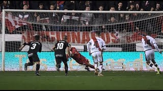 Андрей ЛУНИН потащил первый пенальти в Испании! 🇺🇦 ANDRIY LUNIN PENALTY SAVE #RayoLeganés