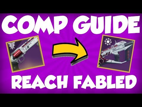 Destiny 2 - 2100 FABLED GUIDE!  Luna Howl + Recluse Guide for Non-Comp Players