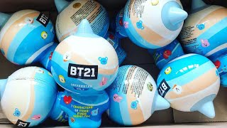 [UNBOXING] BT21 Collectible Figures Vol.2 | Summer Vacation Theme