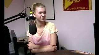 Mirjana Milanovska vo Radio Bravo