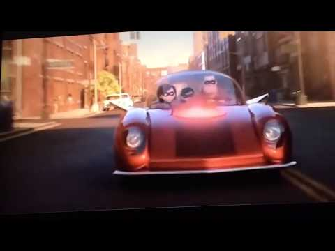 The Incredibles 2 Ending Scene + Incredibles Red Car Reviled
