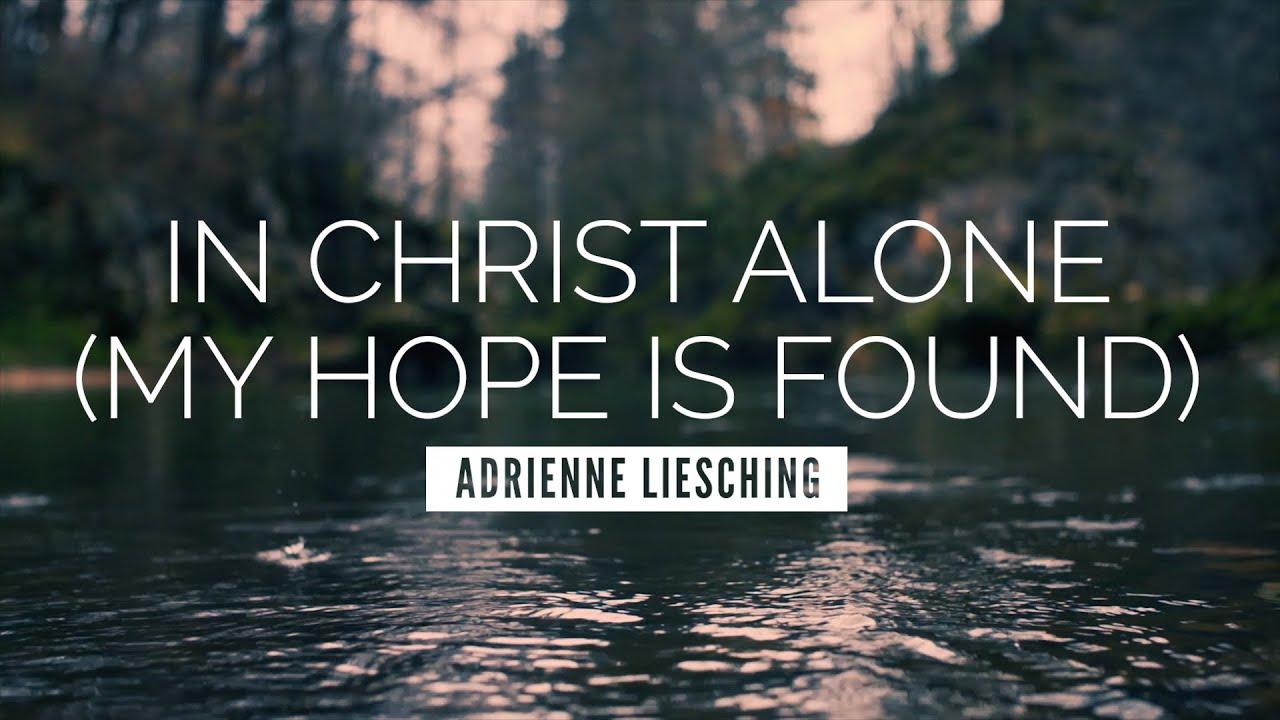 In christ alone lyrics - Stuart Townend