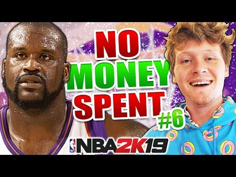 SHAQ ATTACK! NO MONEY SPENT #6 NBA 2K19