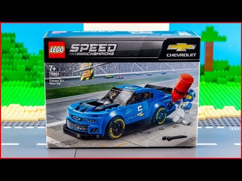 Vidéo LEGO Speed Champions 75891 : La voiture de course Chevrolet Camaro ZL1