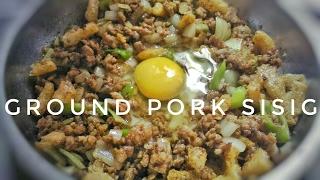 One Pan Ground Pork Sisig   Filipino Recipe  Food Bae