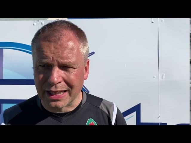 Óskar Hrafn: Menn geta ekki leyft sér að slaka á