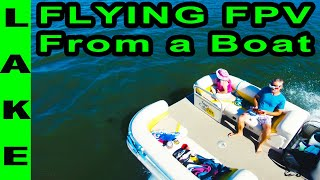 Drone ❌cursion - Flying an FPV Drone From a Boat