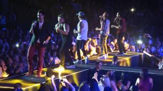 Backstreet Boys - I want It That Way, Auckland Vector Arena 2015