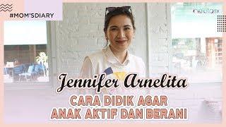 Cara Didik Jennifer Arnelita agar Anak Aktif dan Berani