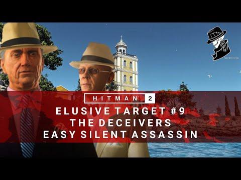 HITMAN 2 | Elusive Target #9 | The Deceivers | Easy Silent Assassin | Walkthrough