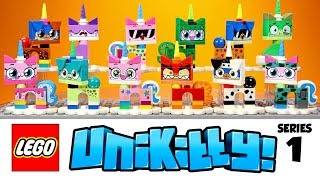 LEGO Unikitty & Prince Puppycorn Collectibles Series 1 Complete Mystery Bag