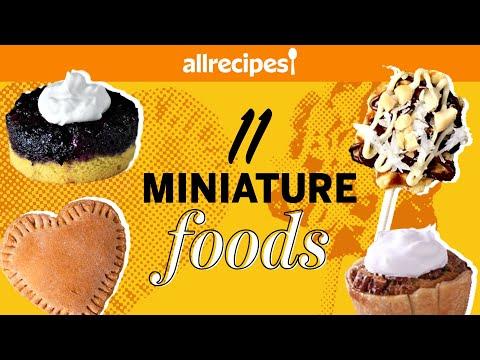 Top 11 Delicious Tiny Food Recipes   Recipe Compilation   Allrecipes.com