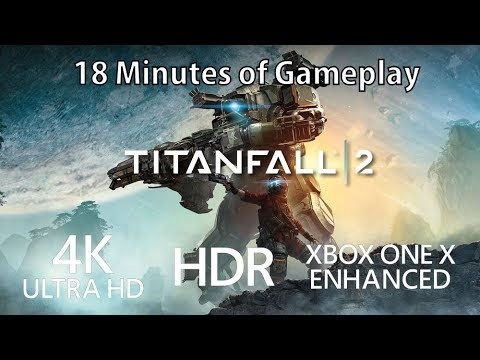 [4K] Titanfall 2 gameplay running in 4K on Xbox One X