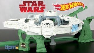 Hot Wheels Star Wars: The Last Jedi Millennium Falcon Track Set from Mattel