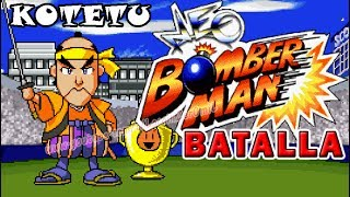 NEO BOMBERMAN MODO BATALLA - KOTETU