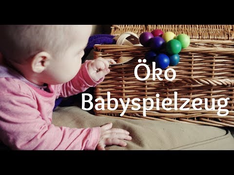 Öko Babyspielzeug  0 - 7 Monate