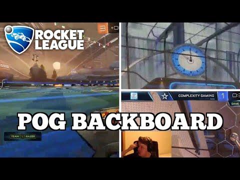 Daily Rocket League Moments: POG BACKBOARD