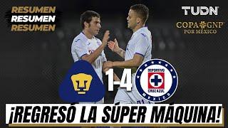 ¡De ensueño! Cruz Azul tuvo un debut mágico en la Copa GNP por México con una goleada sobre Pumas.  Síguenos en nuestras redes sociales:  https://www.facebook.com//tudnmex/ https://www.instagram.com/tudnmex/ https://twitter.com/TUDNMEX  Sitio Web: https://www.tudn.mx/  TUDN México te ofrece la cobertura más completa del mundo deportivo con lo mejor del fútbol mexicano, eventos internacionales, las grandes personalidades del deporte y mucho más.
