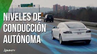 Niveles de conducción autónoma