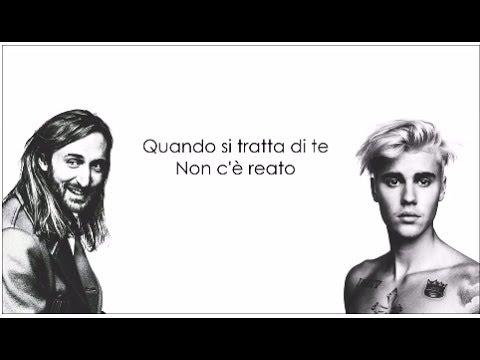 , title : 'David Guetta ft Justin Bieber - 2U    Traduzione in Italiano'