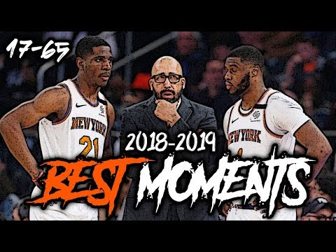 2018-2019 New York Knicks BEST Moments