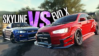 Need for Speed HEAT - Is my EVO X FASTER Than my Skyline R34 GTR?