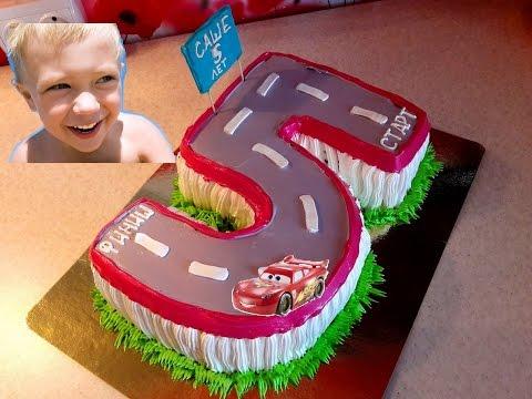 Как украсить торт мальчику на 5 лет