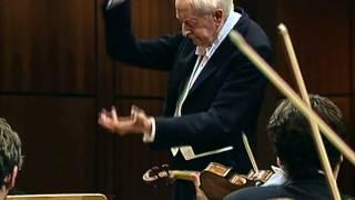 Gunter Wand & NDR Orchestra: Bruckner's Symphony No.7 [3rd Mvt.] live 1999