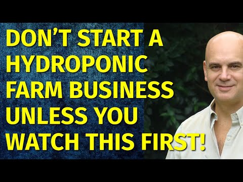 How to Start a Hydroponic Farm Business   Including Free Hydroponic Farm Business Plan Template