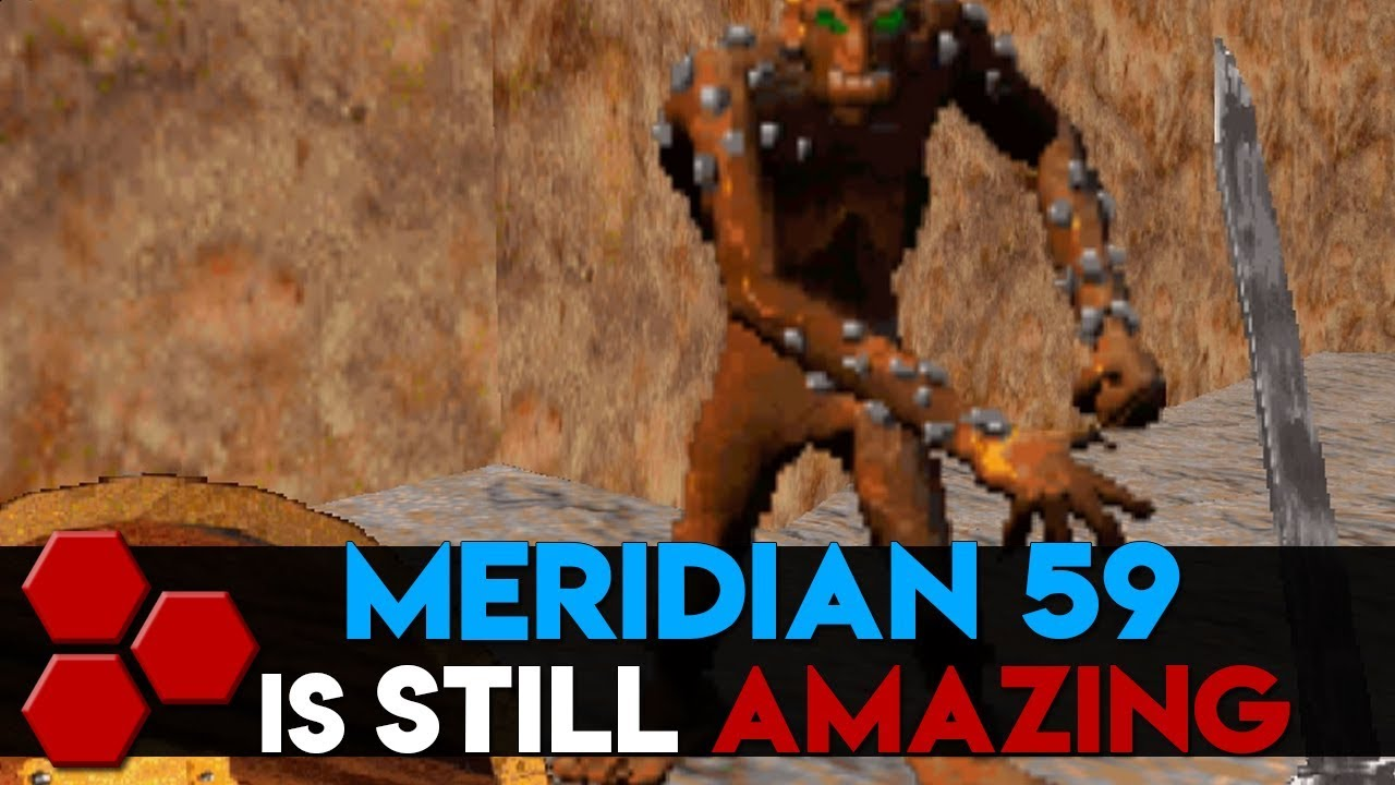 MERIDIAN 59 is STILL Amazing - TheHiveLeader