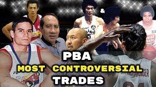 Ang mga Pinaka KONTROBERSYAL na TRADES sa Kasaysayan ng PBA
