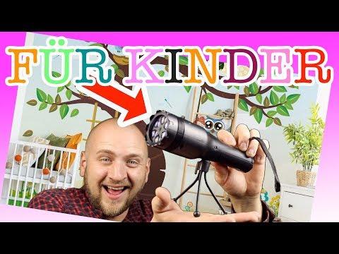 """KEINE ANGST MEHR IM DUNKELN ! Gadget für Kinder """"Taschenlampe Projektor"""" ⚠️🦊🔦"""