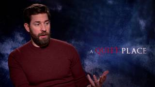 'A Quiet Place' director John Krasinski on working with Emily Blunt & classic horror - Video Youtube