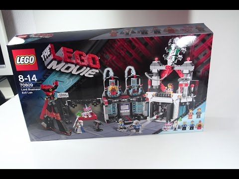 Vidéo LEGO The LEGO Movie 70809 : Le QG de Lord Business