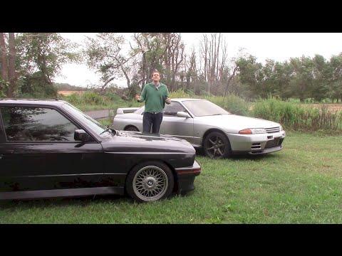 E30 BMW M3 vs. Nissan Skyline GT-R