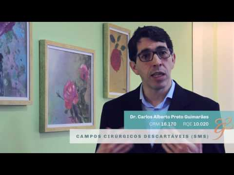 Campos Cirúrgicos Descartáveis SMS - Vídeos | Clínica GrafGuimarães