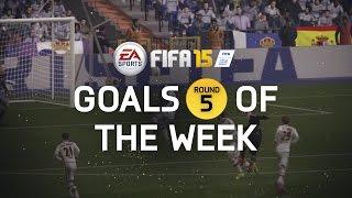 FIFA 15 - Best Goals Of The Week - Round 5