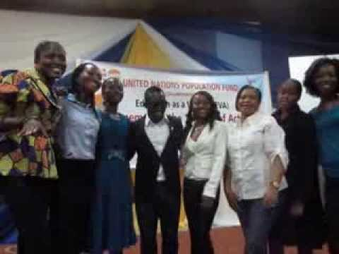 UNFPA Nigeria partners with Young people during International Youth Day 2011 with MI (musician)