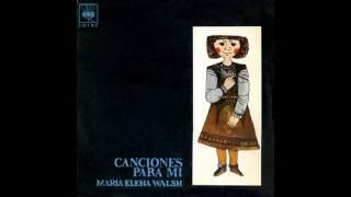 "Video thumbnail of ""CANCIÓN DE BAÑAR LA LUNA  -  MARÍA ELENA WALSH (1963)"""