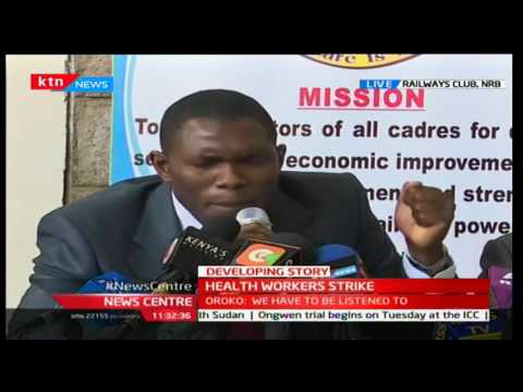Mentality disabled patients escape from Mathare Hospital as Doctors go on strike