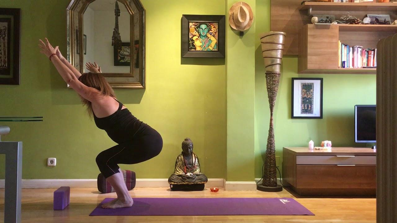 Yoga espalda y brazos