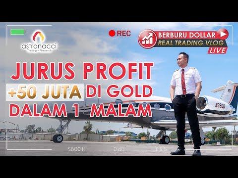 BERBURU DOLLAR REAL TRADING VLOG Ep 6| Wow! TRADING DI VILLA MEWAH PROFIT 50 JUTA