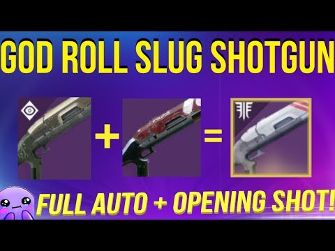 The ULTIMATE Slug Shotgun - Destiny 2
