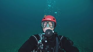 Diver swims St. Lawrence River to showcase pollution