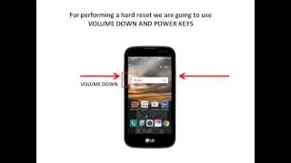 LG K3 hard reset