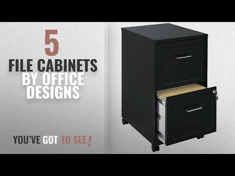 Top 10 Office Designs File Cabinets [2018]: File Cabinet 2 Drawer Wheels Rolling Storage Home Office