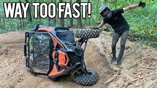 Did I make my Maverick X3 too fast? -  200hp Can Am TURBO R