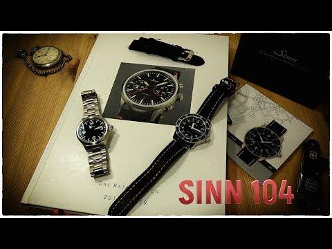 SINN 104 St Sa A   Die klassische Fliegeruhr   Uhr Clock Watch Timepiece
