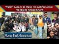 Comedy Film Money Back Guarantee has wrapped up | Fawad Khan | Wasim Akram | Epk News