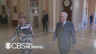 """White House on """"DEFCON 2"""" after McConnell fails to block witness testimony"""